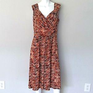 Travel Smith Sleeveless Maxi Dress. Sz Large